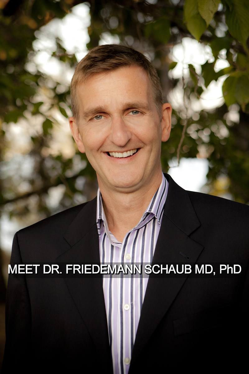 Meet Dr. Friedemann Schaub